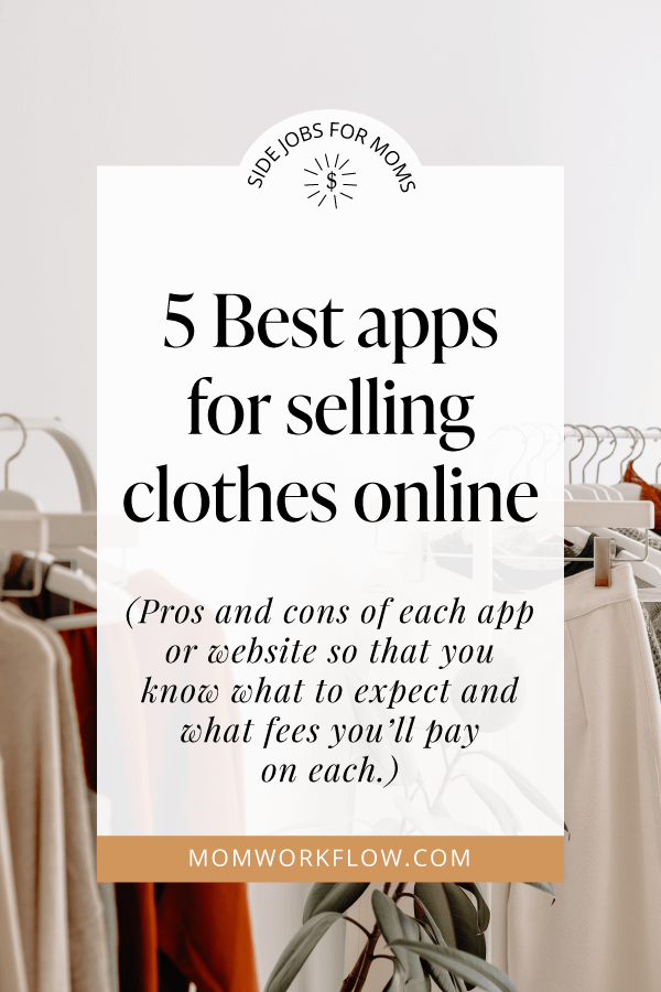 5 Best apps for selling clothes online